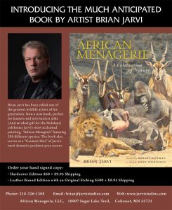 African Menagerie Book - A wildlife art painting unprecedented in history, Jarvi's epic masterwork features 208 different species, is the subject of a brand new book from international publisher Rizzoli and a national museum tour.