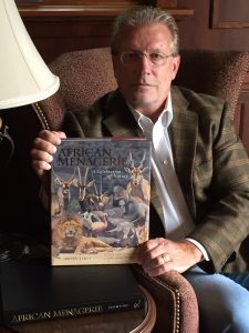 African Menagerie Book - A wildlife art painting unprecedented in history, Brian Jarvi's epic masterwork features 208 different species, is the subject of a brand new book from international publisher Rizzoli and a national museum tour.